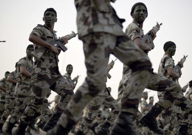 沙特軍人 (資料圖片)