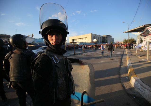 巴格達警察(資料圖片)