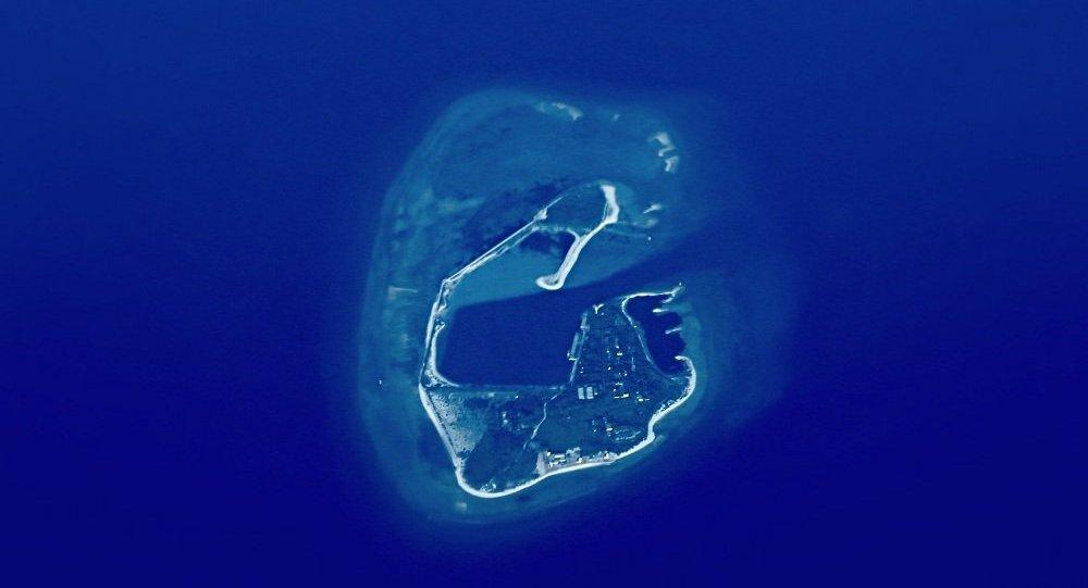 美軍無暇號測量船被曝現身西沙群島附近,航跡不常見