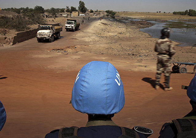 聯合國維和人員在馬里