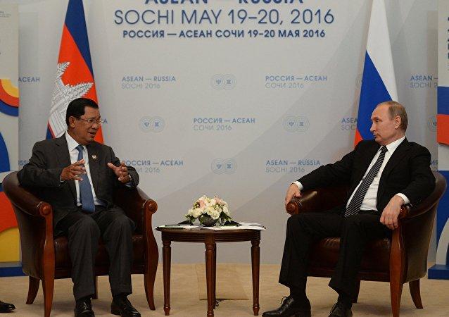 柬埔寨首相:俄羅斯可在重建柬埔寨基礎設施的領域發揮關鍵作用