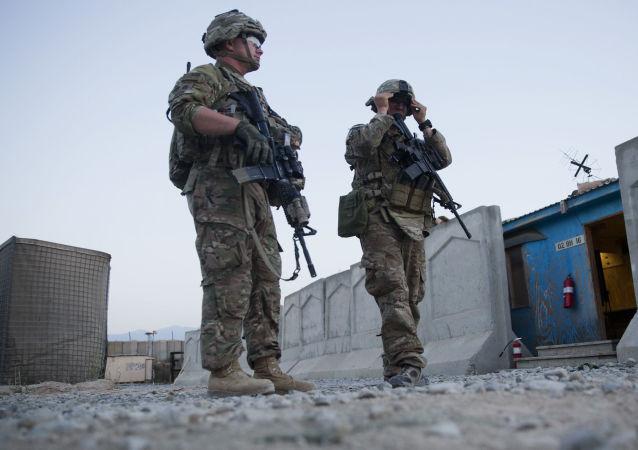 駐阿富汗美國軍隊
