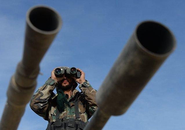敘利亞軍人在哈馬省消滅100余名恐怖分子