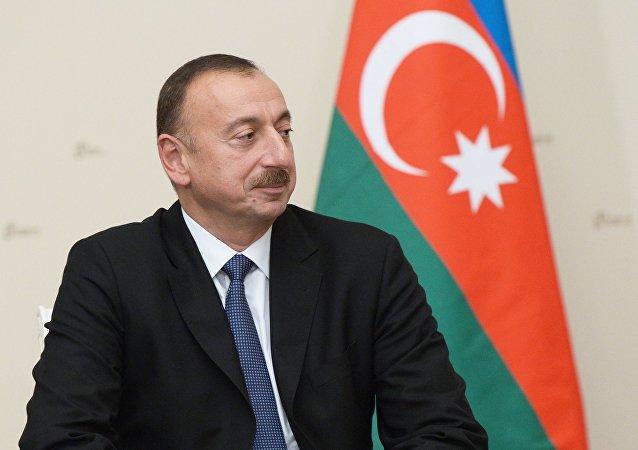 阿塞拜疆總統希望和平解決卡拉巴赫問題 呼籲開啓實質談判