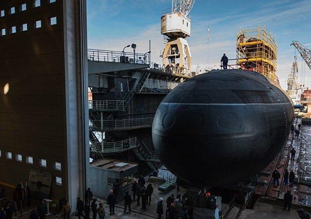 俄海軍將為太平洋艦隊訂購6艘「華沙女人」級潛艇