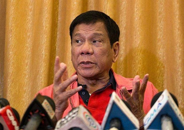 菲律賓新當選總統羅德里戈•杜特地