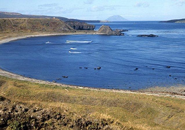 千島群島松輪島開始恢復日軍留下的機場