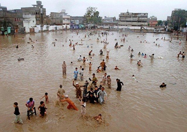巴基斯坦洪水