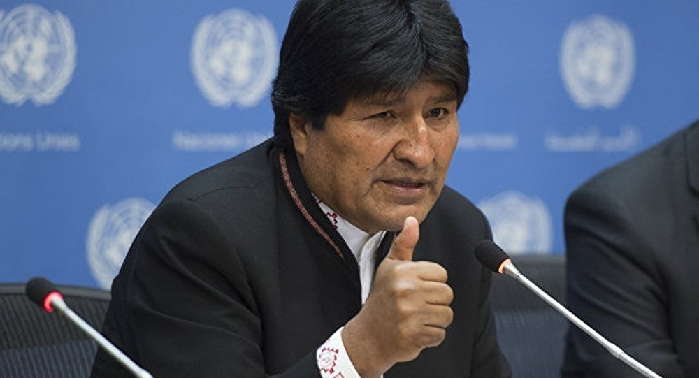 玻利維亞總統警告稱全球2/3人口將面臨缺水危機