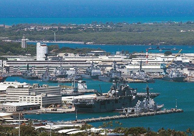 美國珍珠港-希卡姆聯合基地在槍擊事件後重新開放