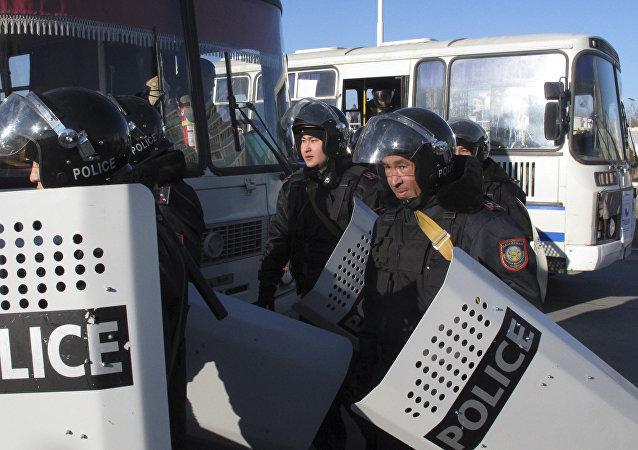哈薩克斯坦每年避免數起恐怖襲擊