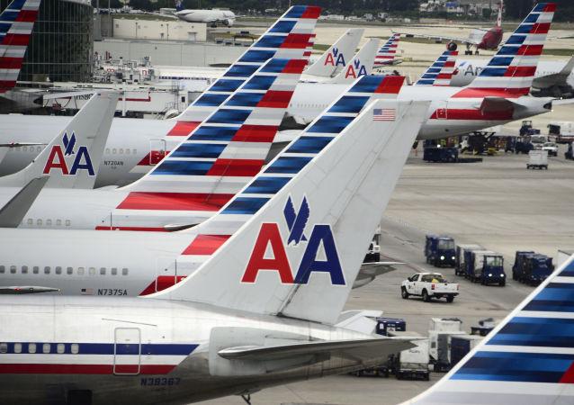 美航一架飛機因技術問題返航 4人被送醫