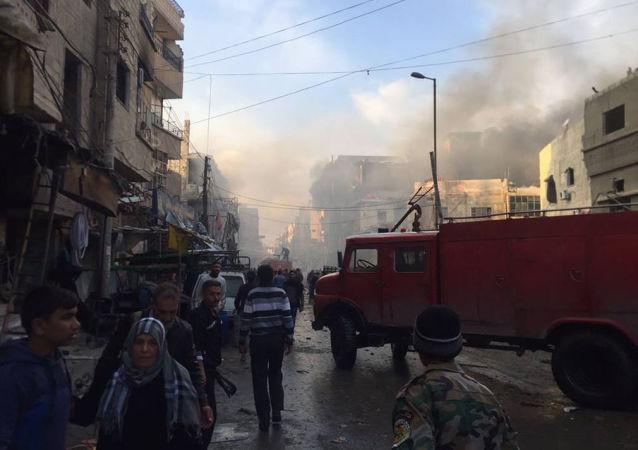 「伊斯蘭國」宣稱對大馬士革郊外的兩起恐襲負責