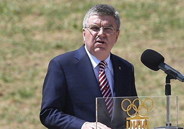 國際奧林匹克委員會主席巴赫