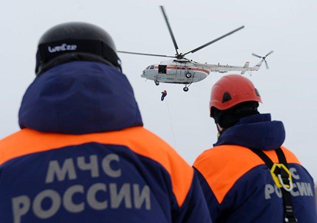 俄哈巴羅夫斯克邊疆區當局:尼古拉耶夫斯克區採礦場發生3次雪崩