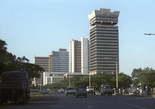 消息人士:津巴布韋首都市政廳內沒有軍人