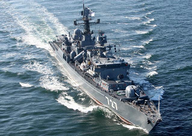 五角大樓指責俄軍艦發送虛假信號