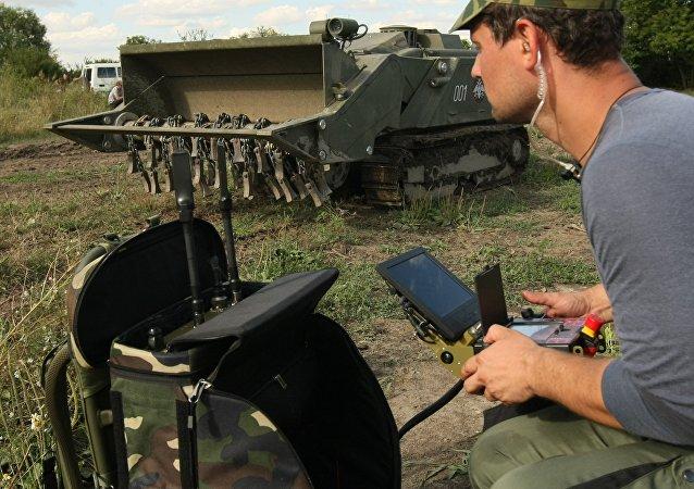 俄羅斯工兵機器人技術