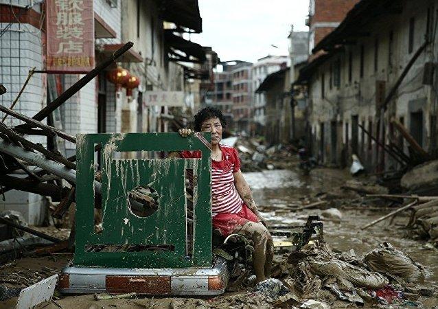 颱風「尼伯特」造成福建省69人死亡