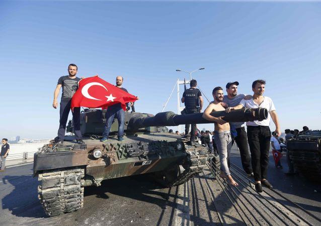 土耳其軍事政變
