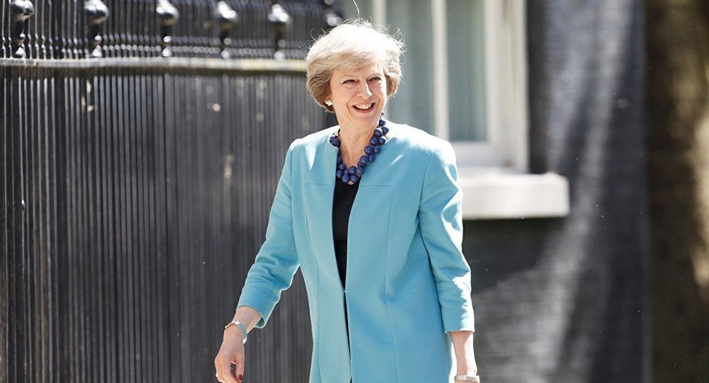 英國首相為獲准組閣前往覲見女王