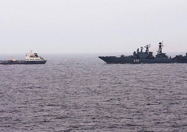 俄北方艦隊航空兵完成了巴倫支海上空攔截空中目標的任務