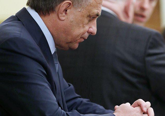 俄羅斯體育部部長維塔利·穆特科