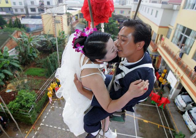 中國政府提倡節儉辦婚禮