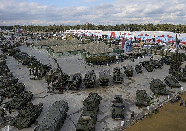 莫斯科州愛國者公園(資料圖片)