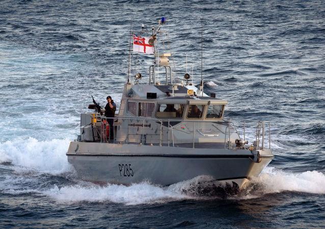 英國海軍艦隊船隻「HMS Sabre」號