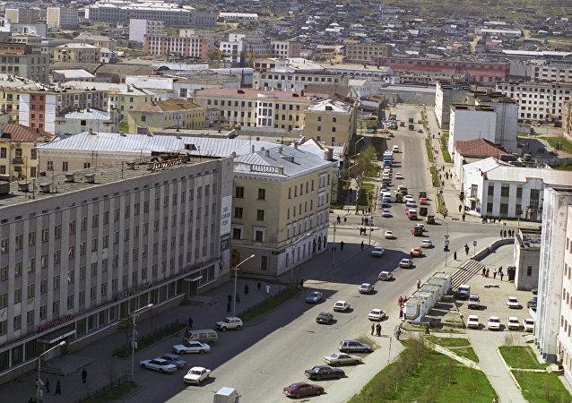 俄羅斯馬加丹市