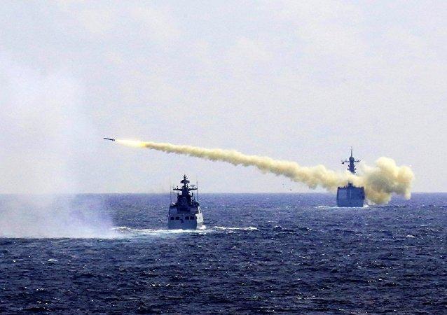 中國專家:中俄南海舉行聯合軍演沒有任何特殊的針對性