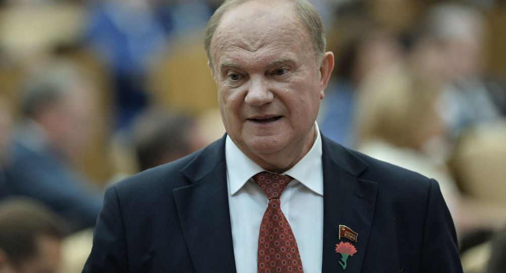 俄羅斯聯邦共產黨領導人久加諾夫