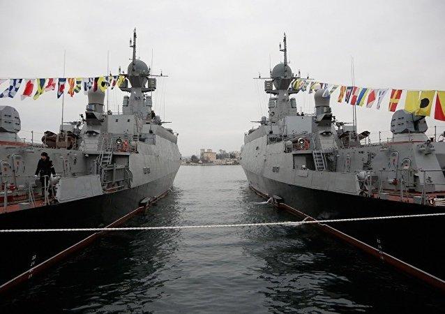 俄國防出口公司艦艇訂單總額超50億美元