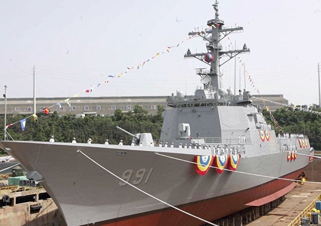 韓國新驅逐艦