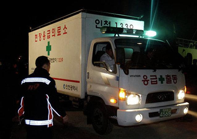 韓國旅遊巴士交通肇事 至少4死40傷