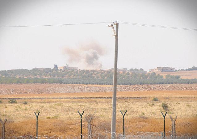 土耳其軍隊在敘利亞北部發動軍事行動