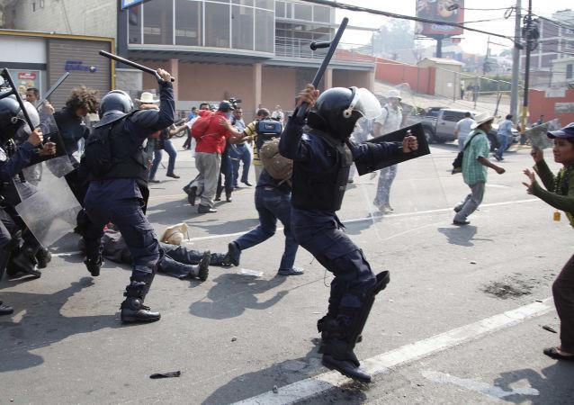 洪都拉斯反對派要求取消總統選舉結果