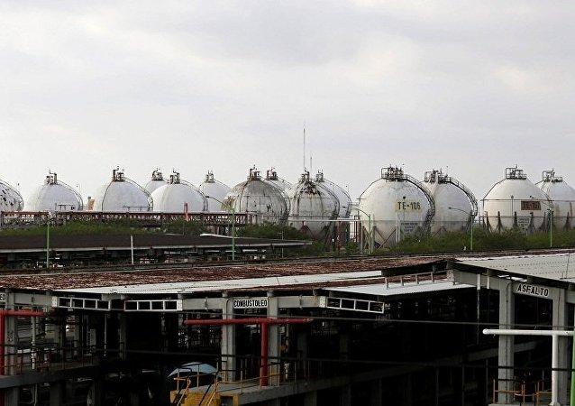 墨西哥國家石油公司Pemex的煉油廠