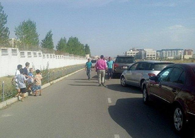 中國駐比什凱克使館爆炸地發現一具遇難者遺體