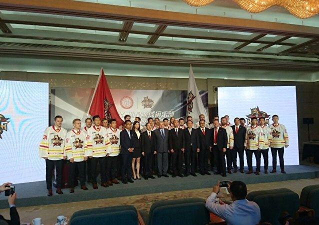 中國崑崙隊9-10 月將在上海舉行大陸冰球聯賽11場主場賽
