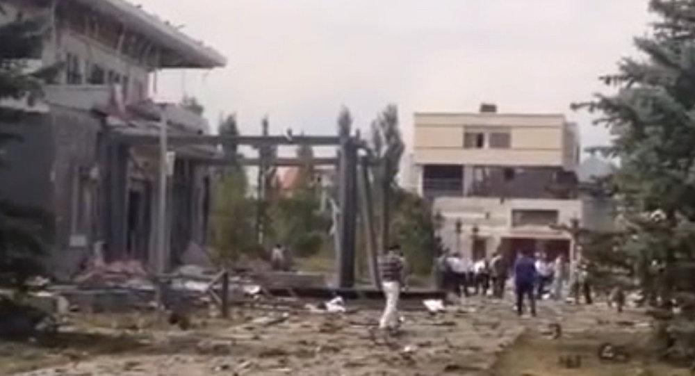 中國駐比什凱克使館附近發生爆炸