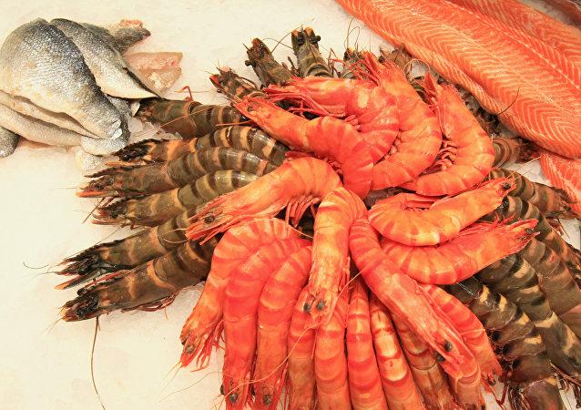 東方經濟論壇將用遠東蟹肉、貝肉、大蝦迎賓客