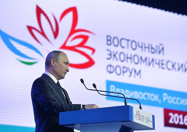 普京:遠東應成為俄社會經濟發展中心之一
