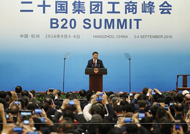 中國國家主席:中國有能力保持經濟的中高速增長
