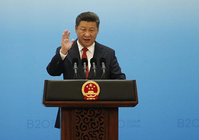 中國國家主席習近平祝賀古特雷斯當選下屆聯合國秘書長