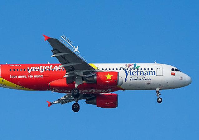 越捷航空( VietJet) 的飛機