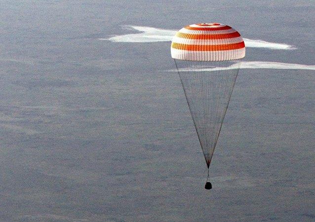 神舟十一號飛船返回艙著陸