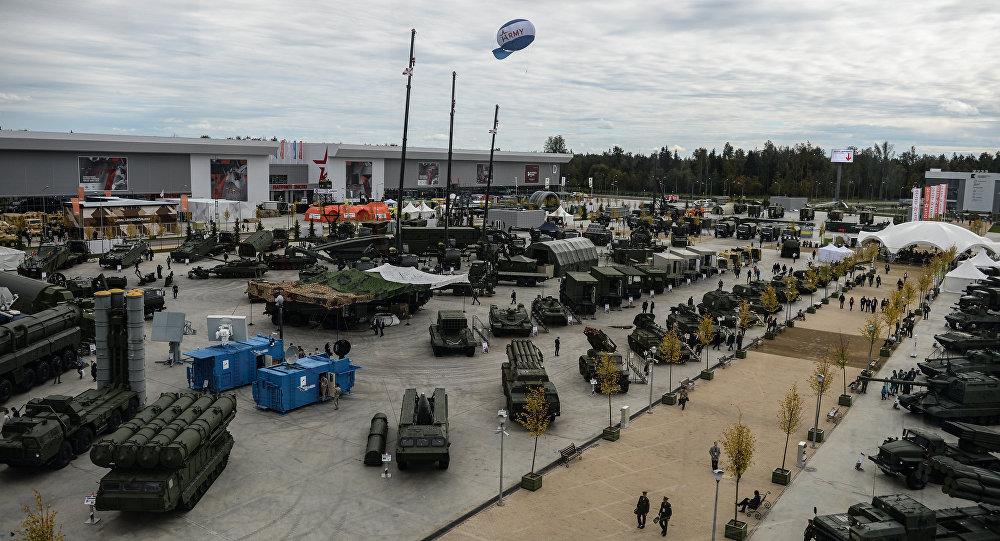 聯合儀器公司在「軍隊-2016」上展示電子戰系統