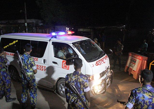 孟加拉國救護車(資料圖片)